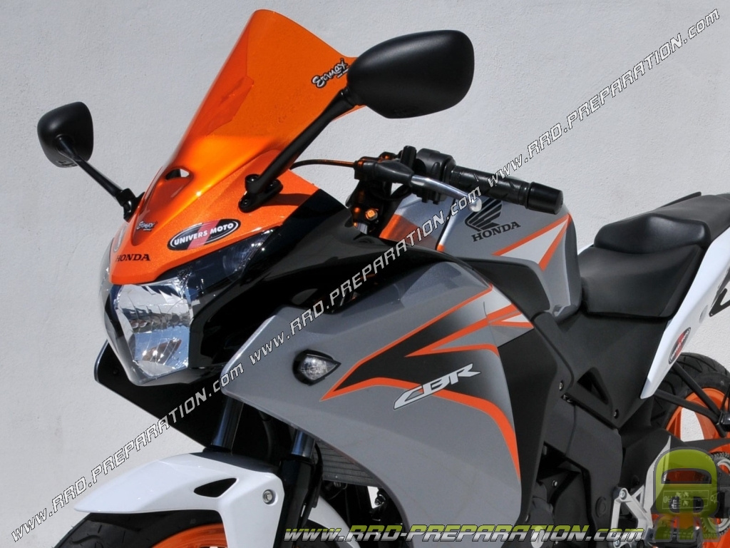 Bulle Ermax For Honda Cbr 125cc R From 2011 Colors And Designs
