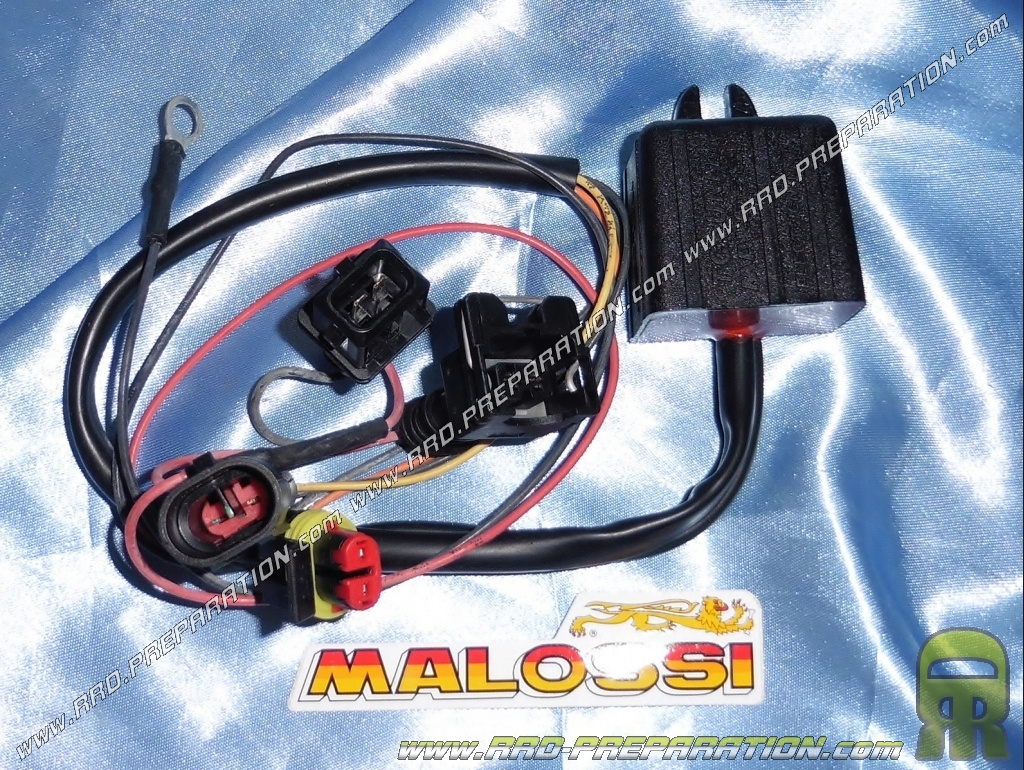 emulateur sonde lambda malossi tc unit o2 controller pour maxi scooter 4 temps aprilia scarabeo. Black Bedroom Furniture Sets. Home Design Ideas