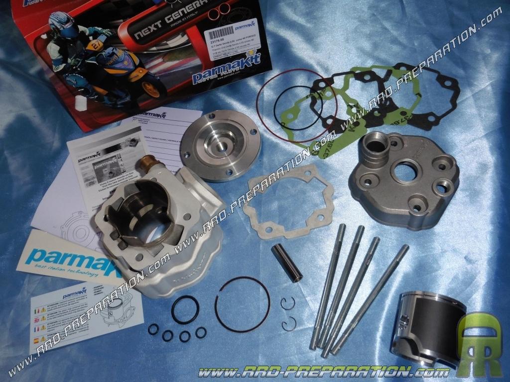 Kit 110cc high engine Ø55mm PARMAKIT (special race 46mm) DERBI euro 1 & 2 -  www rrd-preparation com