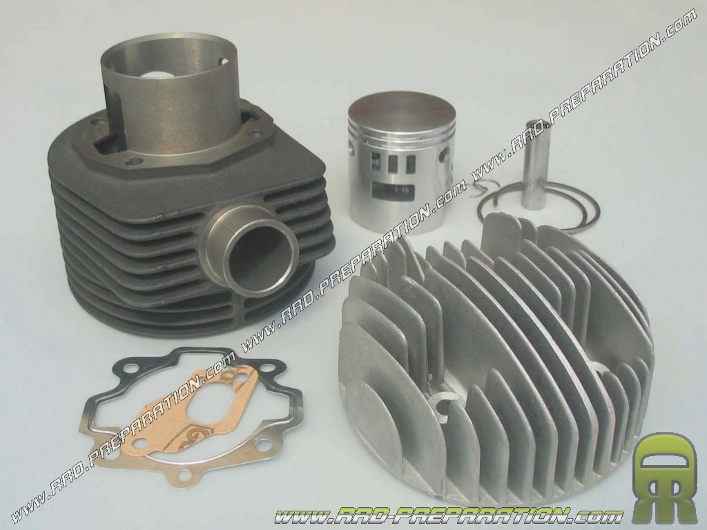 kit high 177cc 63mm cylinder head with cast iron parmakit scooter vespa px ts 125 150cc 2. Black Bedroom Furniture Sets. Home Design Ideas