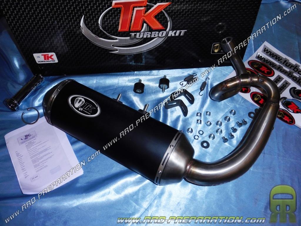 exhaust line TURBO KIT TK BUGUIES for BUGGY KINROAD, RACER, 250cc -  www rrd-preparation com