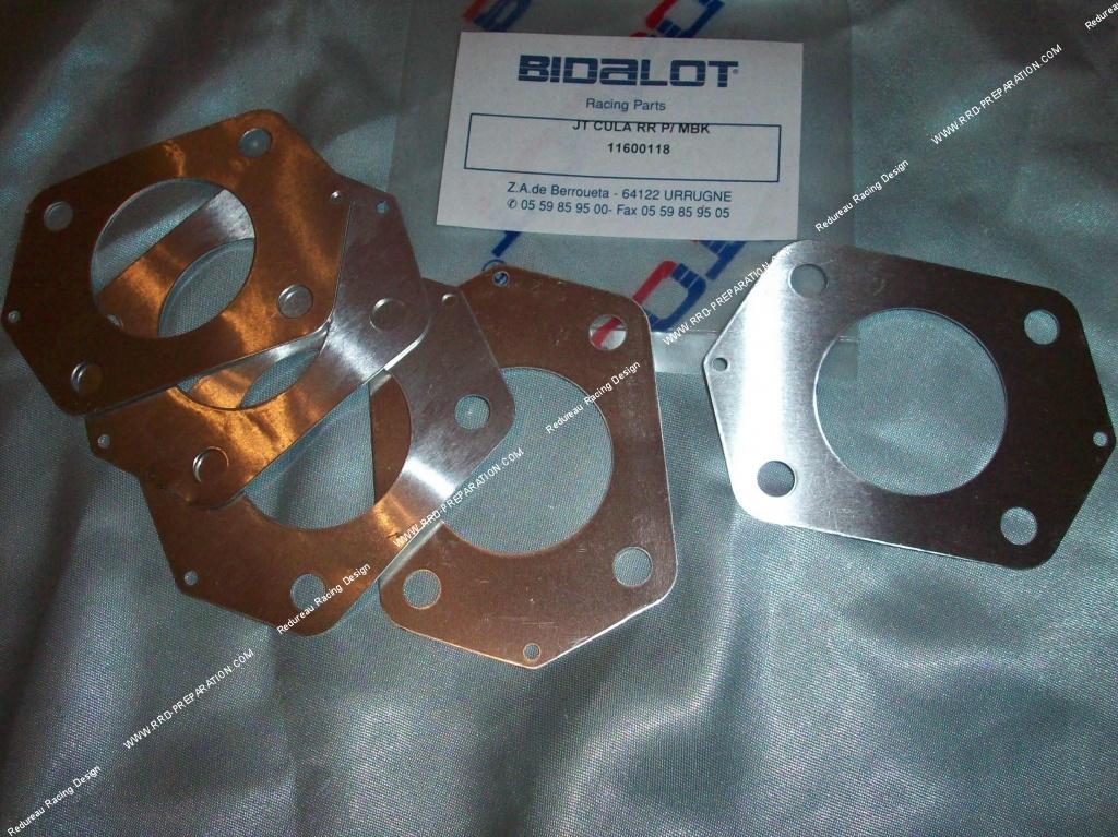 cylinder gasket 216 39mm bidalot for kit 50cc g1 rr or