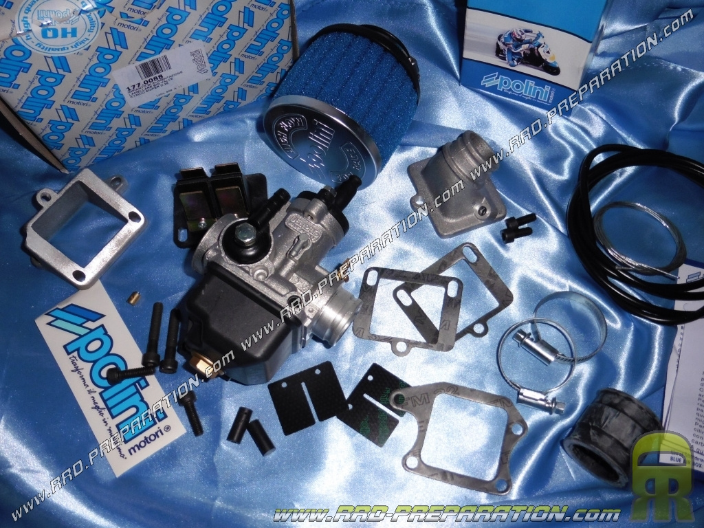 Carburetor Kit Pipe Valves Air Filter 25mm Polini For Kymco And Spark Plug Wiring Harness Quad Mxer Mxu Maxxer Scooter Heroism 50cc Sniper