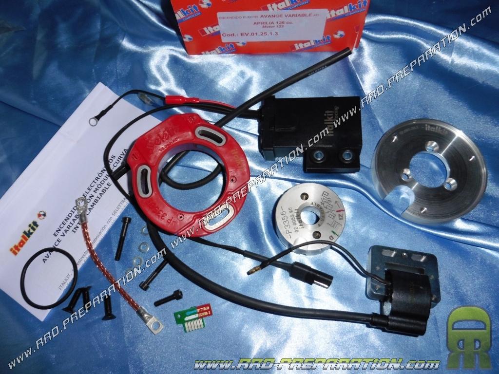 DIGITAL SELETTRA ITALKIT ignition internal rotor motorcycle 125cc Aprilia  122 ROTAX - www rrd-preparation com