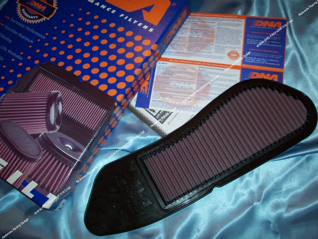 air filter dna racing for maxi scooter yamaha x max x city mbk skycruiser 125 and 250cc 4. Black Bedroom Furniture Sets. Home Design Ideas