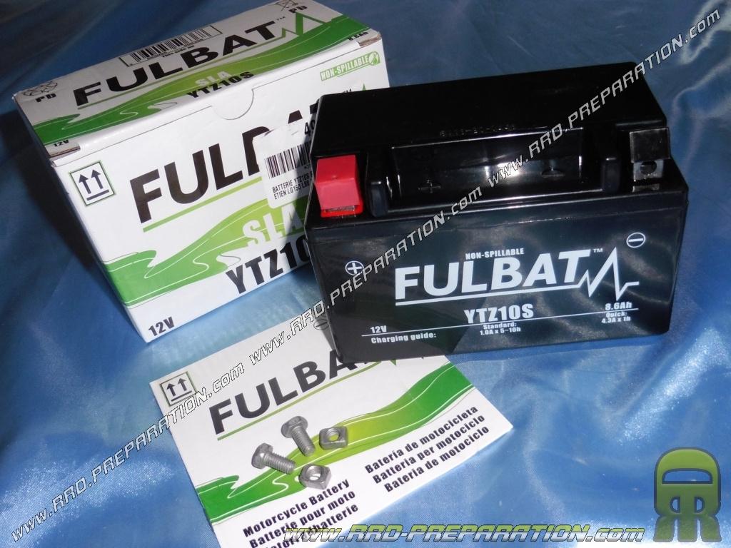 6ah Entretien Gel 12v Moto Ytz10s 8 Batterie Sans Au Fulbat Pour YfbI6gy7v
