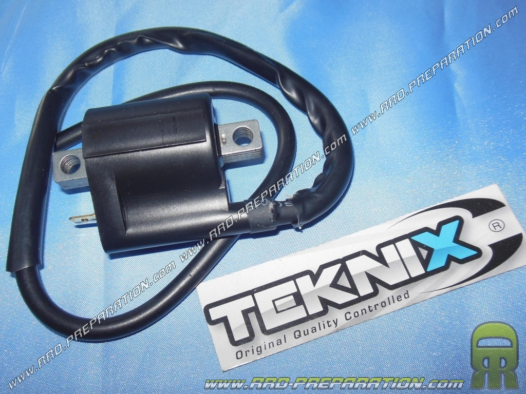 High voltage coil with original TEKNIX cable for scooter ignition minarelli  booster, nitro, aerox, bw's     - www rrd-preparation com