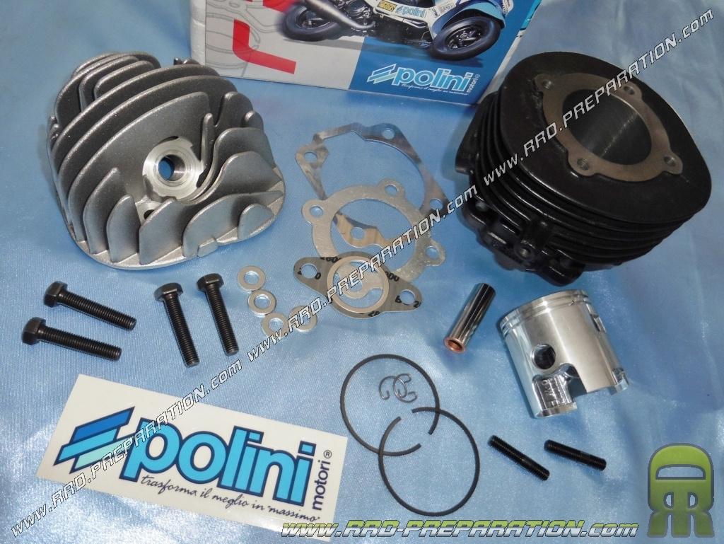 kit haut moteur 47mm 75cc polini racing fonte 6 transferts pour scooter vespa 50cc 2t pk hp. Black Bedroom Furniture Sets. Home Design Ideas