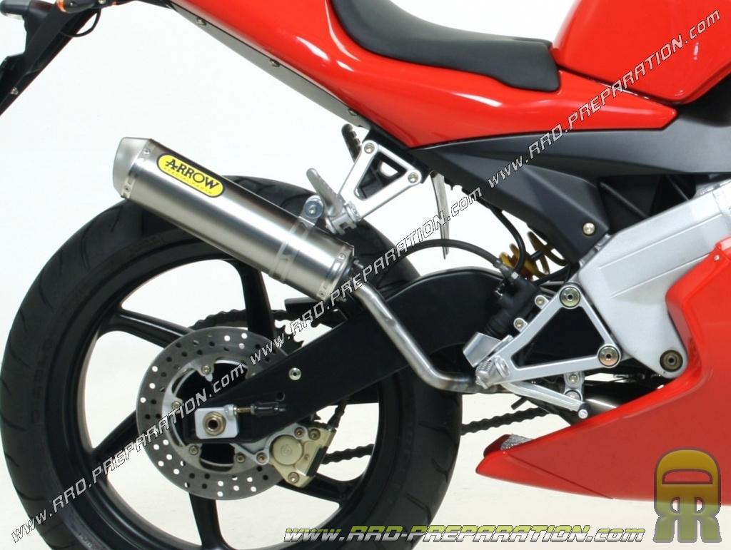 pot d 233 chappement arrow all road pour moto ktm exc 250 2t www rrd preparation