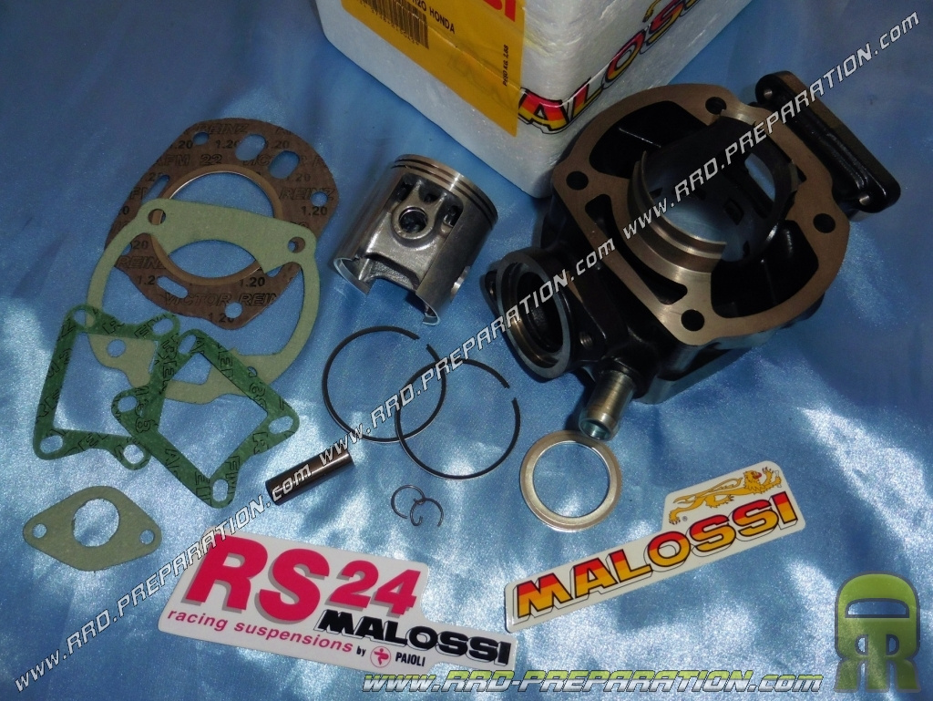 Kit 100cc Ø53mm MALOSSI for motorcycle HONDA MBX 80, MTX R 80 and NSR 80 R  liquid cooling