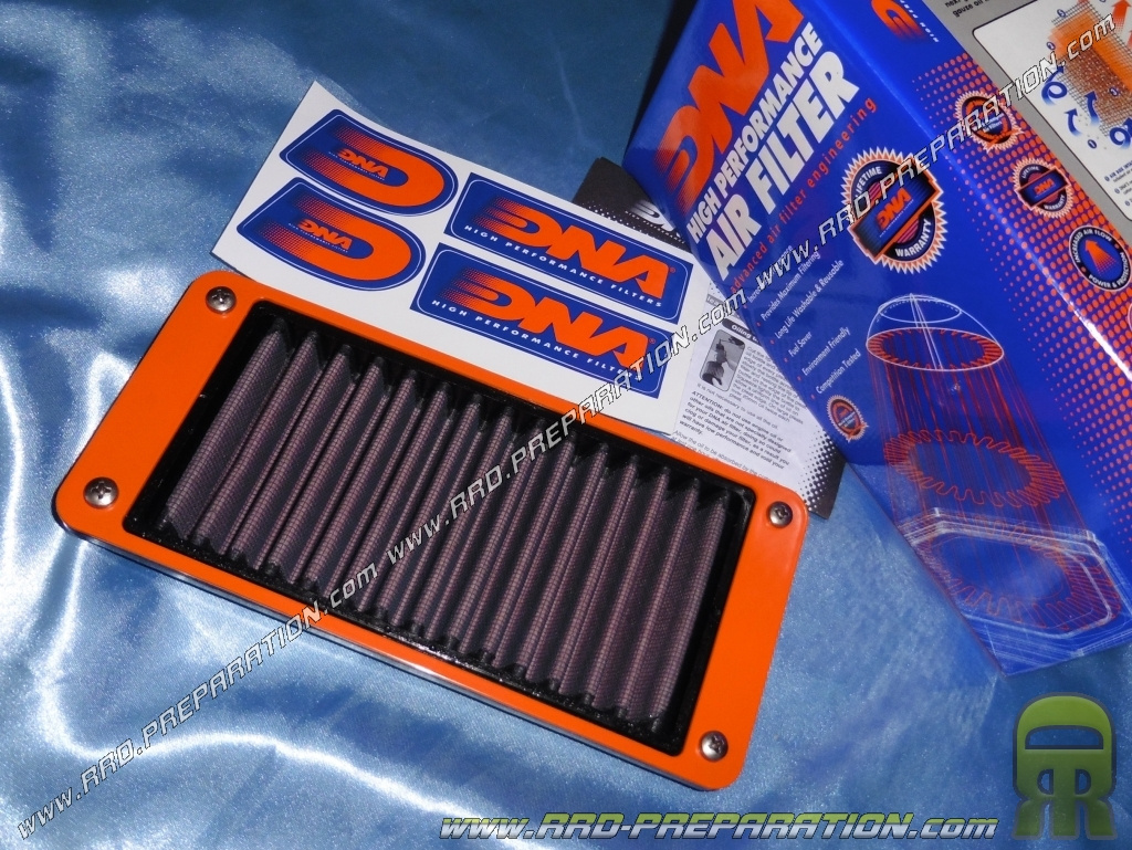 Air filter DNA RACING for maxi-scooter Joymax SYM, JOYRIDE GTS and     125  and 200cc 4 stroke