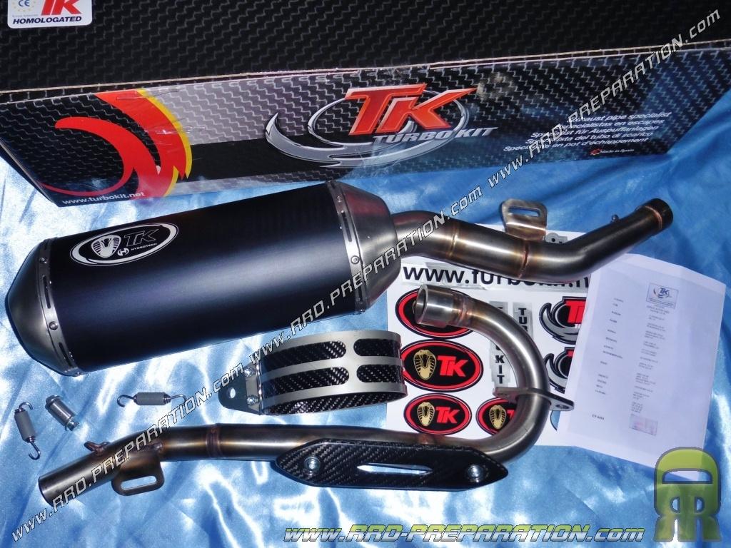 pot d 233 chappement turbokit tk road pour rieju marathon mrt supermoto 125cc 4t a partir