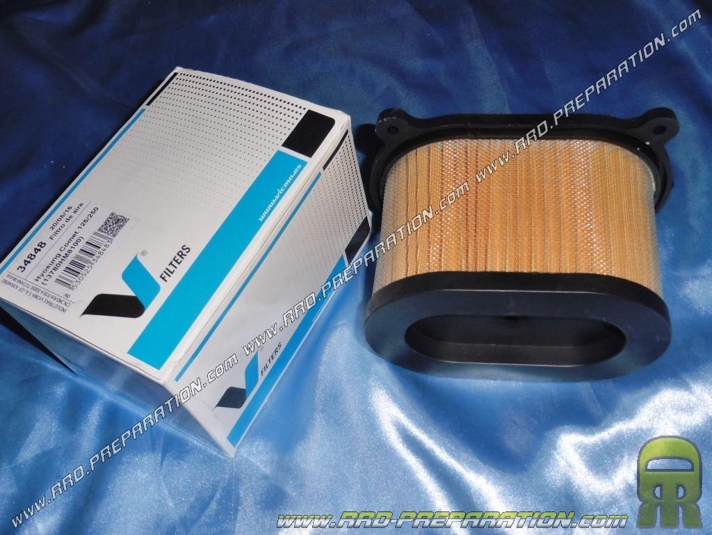 filtre air type origine vicma pour moto hyosung gt comet naked 125 250 et 650cc. Black Bedroom Furniture Sets. Home Design Ideas