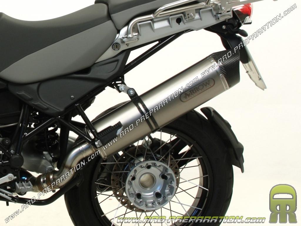 arrow maxi race tech exhaust silencer for bmw r 1200 gs r. Black Bedroom Furniture Sets. Home Design Ideas