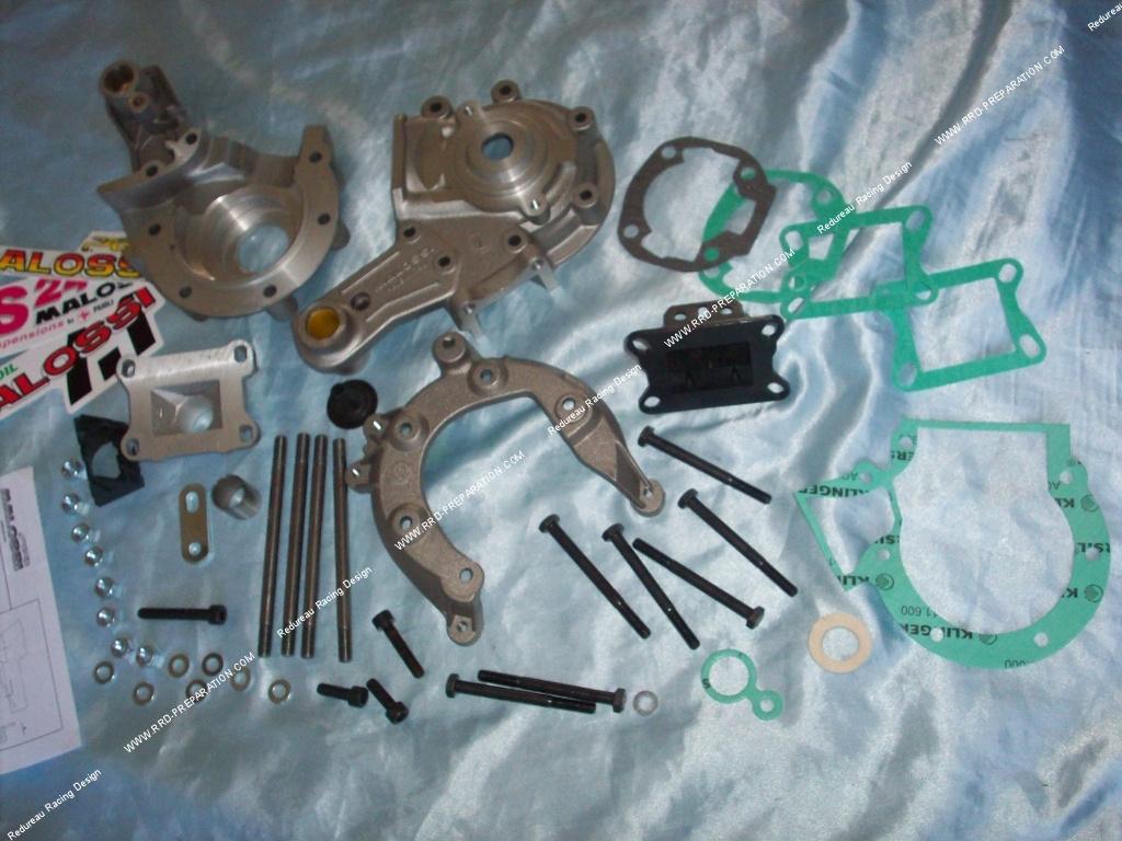 carters moteur malossi complets pour peugeot 103 spx rcx clip mvx. Black Bedroom Furniture Sets. Home Design Ideas