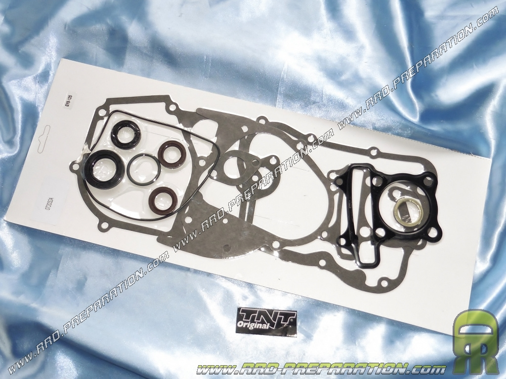 Pack complete joint TNT Original + oil seals for maxi-scooter engine GY6  125cc 4 stroke 152QMI     - www rrd-preparation com
