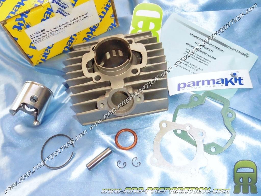 Kit 70cc Ø46mm PARMAKIT aluminum for HONDA CAMINO, PX 50     -  www rrd-preparation com