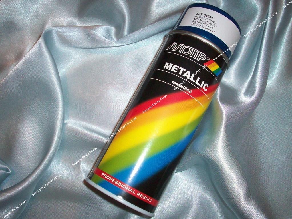 Bombe Spray Peinture Motip Couleurs Métallisées Aux Choix Pour
