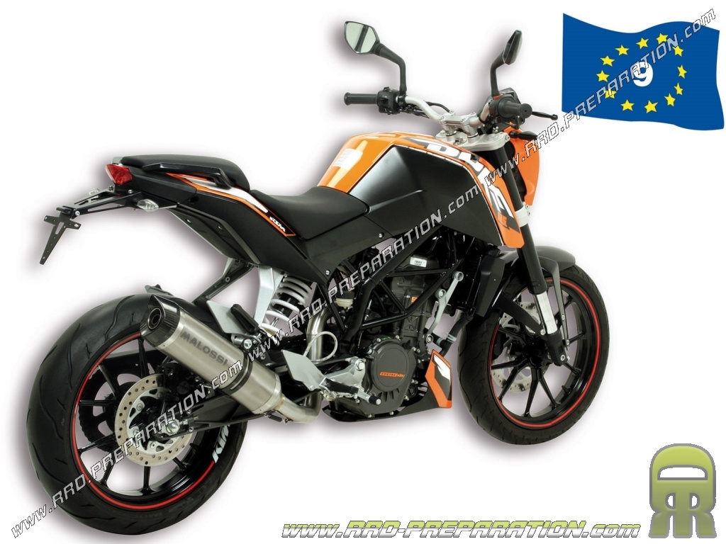 pot d 39 chappement malossi gp mhr replica pour ktm duke 125cc ie 4t lc. Black Bedroom Furniture Sets. Home Design Ideas
