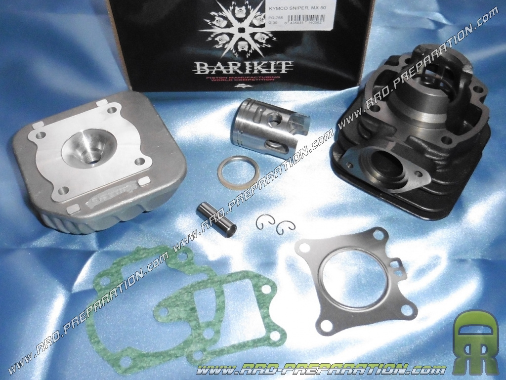 Kit 50cc 39mm Cast Iron Cylinder Head With Barikit Scooter Kymco And Spark Plug Wiring Harness Heroism Sniper Quad Mxu Mxer
