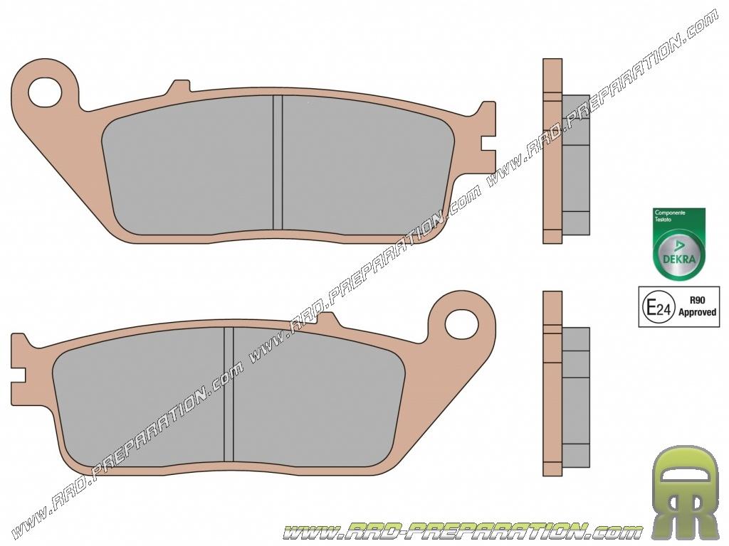 Plaquettes de frein Scooters Kymco Agility 125  Avant de 2006 à 2014