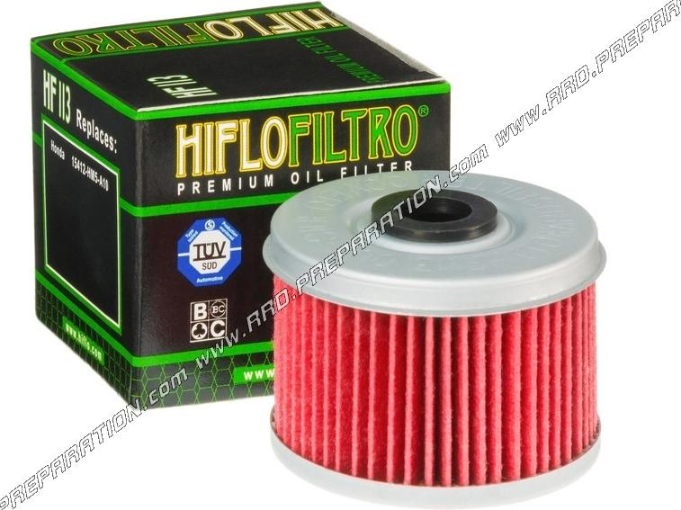 filtre huile hiflo filtro pour moto quad et buggy honda 125 200 250. Black Bedroom Furniture Sets. Home Design Ideas