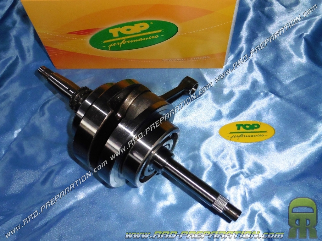 Crankshaft, connecting rod assembly reinforced TOP PERFORMANCE for KYMCO  DINK, B & W, GRAND DINK, YUP, BUGGY PGO 250cc     - www rrd-preparation com
