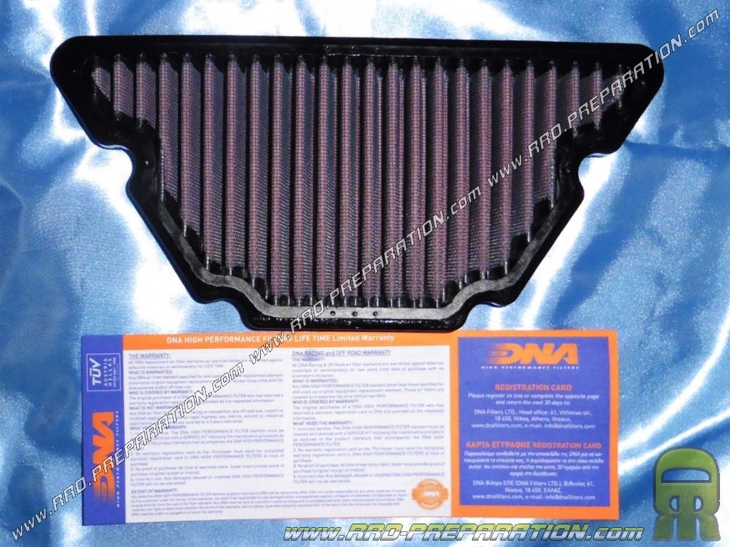 filtre air dna racing pour moto yamaha xj6 fzr 600 fz6. Black Bedroom Furniture Sets. Home Design Ideas