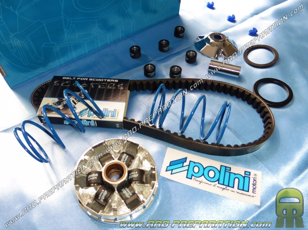 variator polini hi speed (+ vario spring, belt, ) for scooter