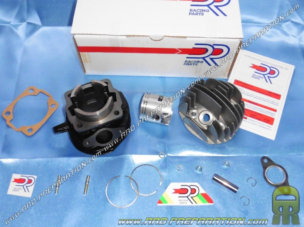 kit high Ø47mm 75cc DR Racing 3 iron transfers for scooter 50cc 2T VESPA  PK, HP, XL, SPECIAL, Piaggio APE     - www rrd-preparation com