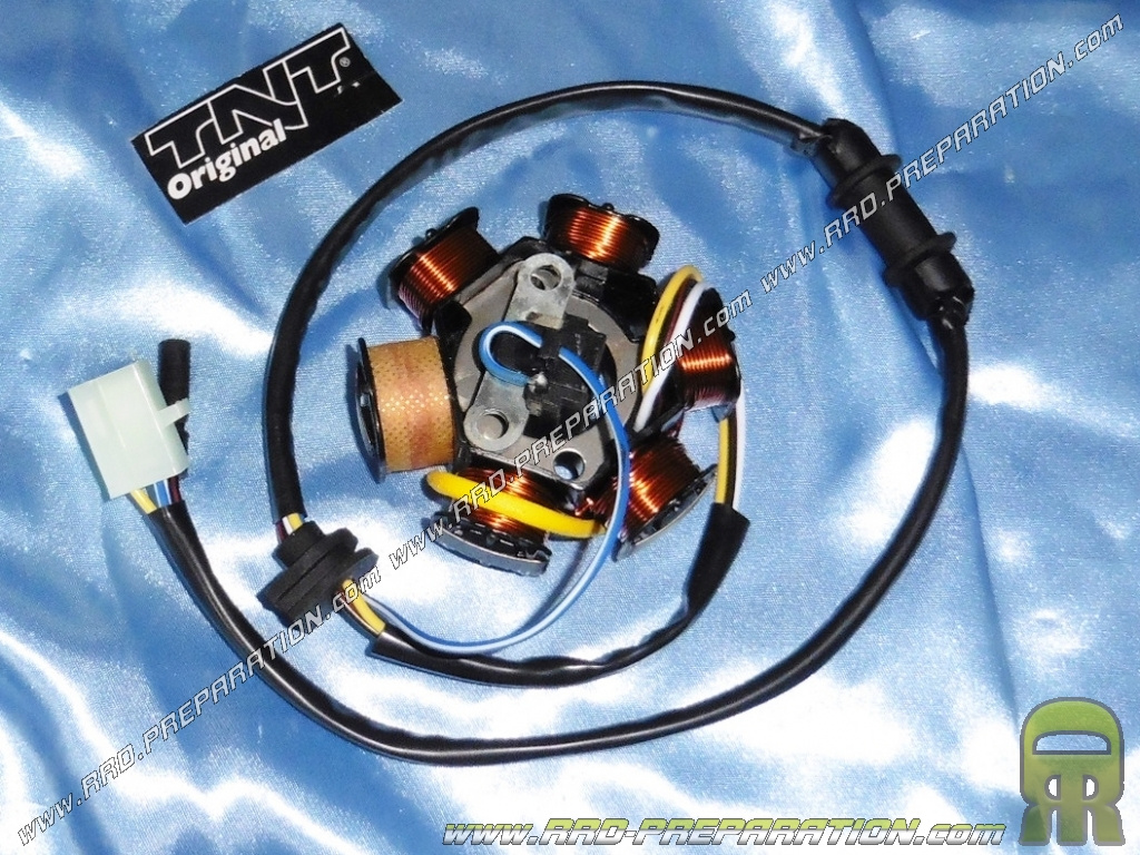 Stator Tnt Cable With Sensor For Ignition Origin Scooter Peugeot Squab Wiring Diagram Trekker Speedfight Buxy Tkr 50