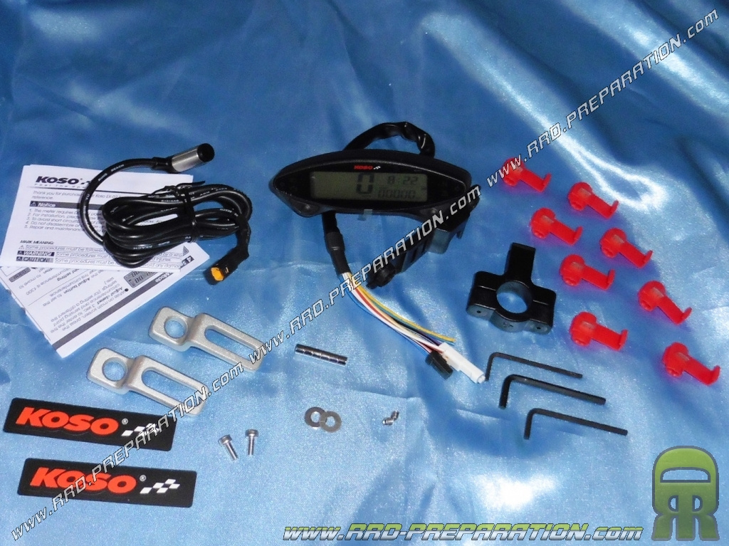 Speedometer  Indicators     Digital Koso Db Ex