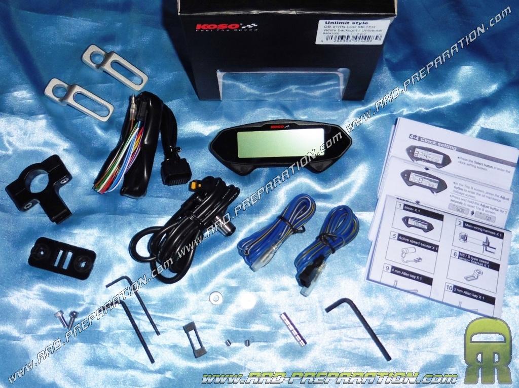 Speedometer  Rev Counter  Gas Gauge  Indicators