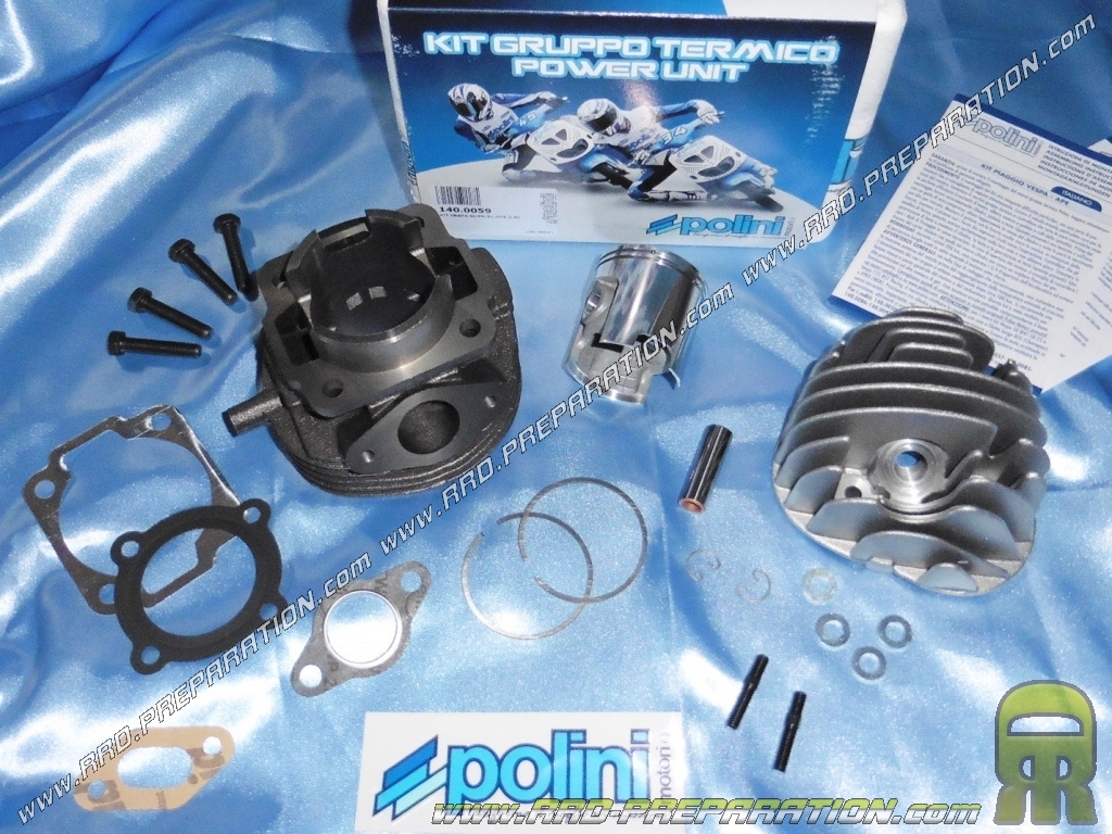 kit haut moteur 50mm 90cc polini sport fonte 6 transferts pour scooter vespa 50cc 2t pk hp xl. Black Bedroom Furniture Sets. Home Design Ideas