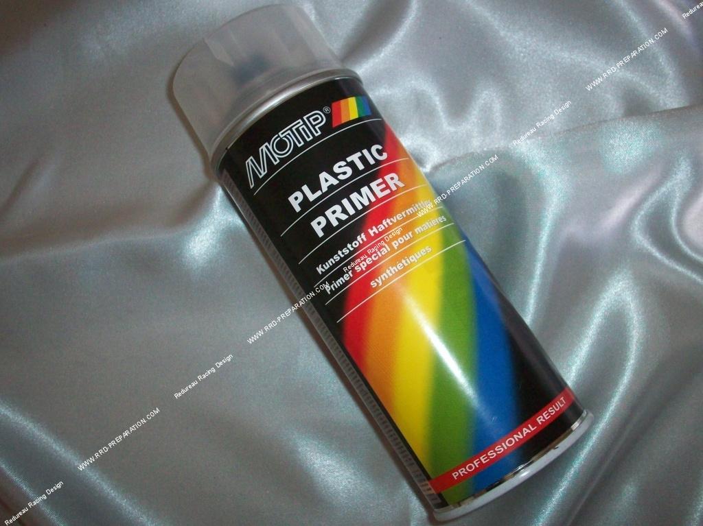 Bombe Spray Peinture Apprêt Plastique Motip Primer Sous Couche