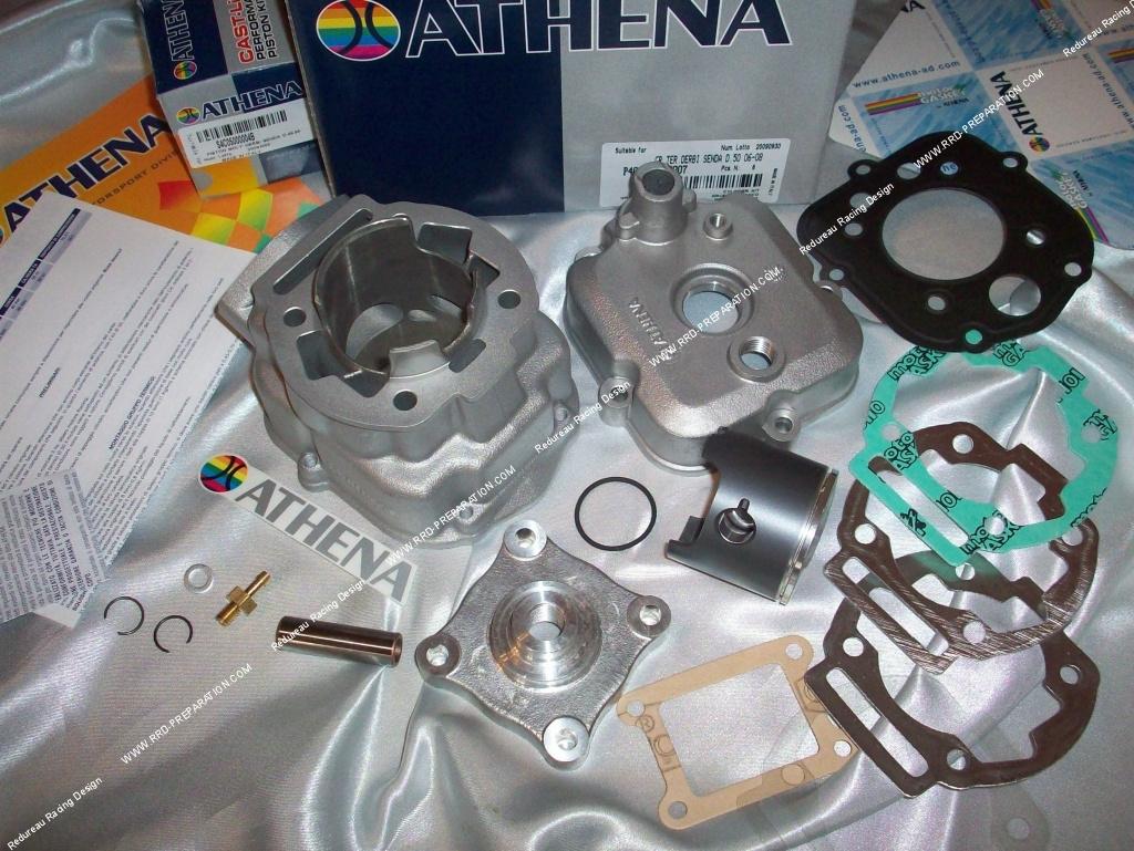kit 80cc high engine 50mm athena racing aluminium derbi. Black Bedroom Furniture Sets. Home Design Ideas