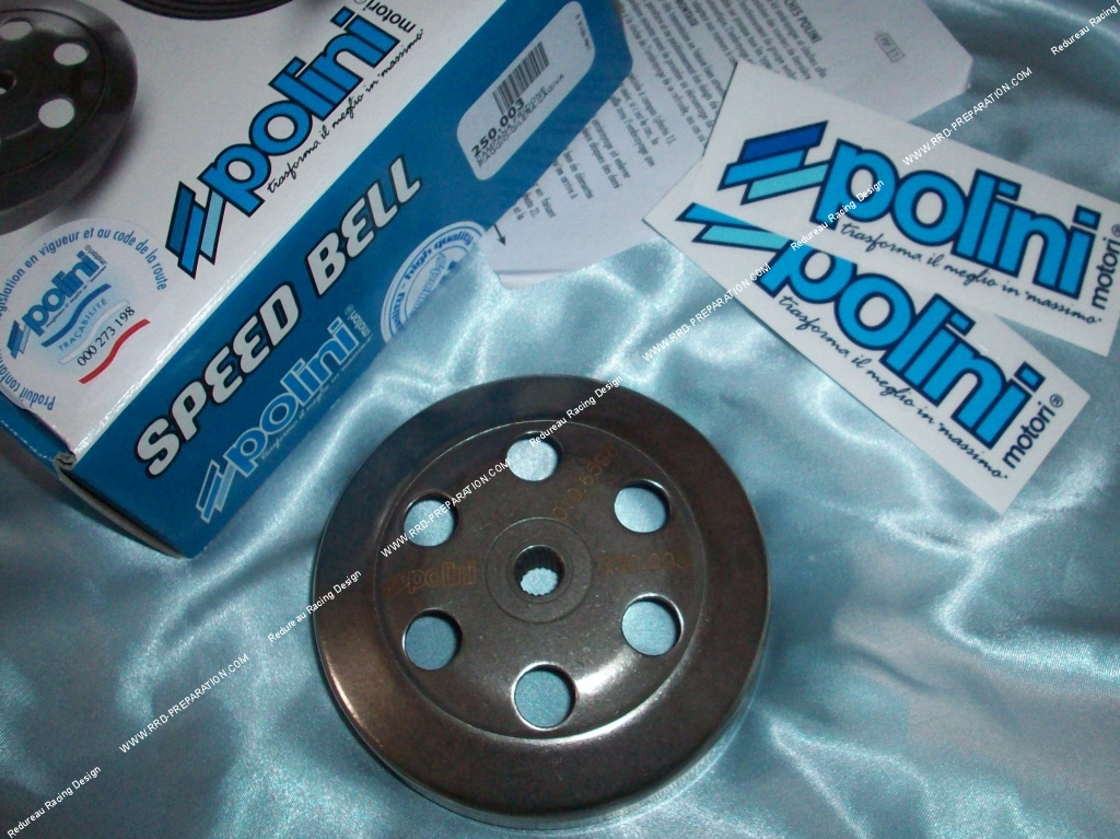 POLINI Speed Bell 107 mm per Gilera Runner 50 FL Carburatore 01-04 ZAPC36