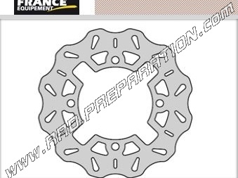 Rear Brake Disc ø220mm France Equipment For Quad Scooter