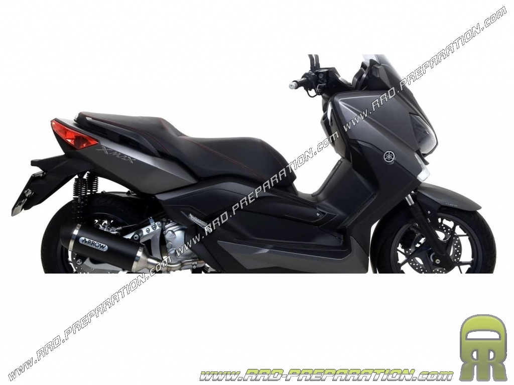 arrow urban muffler for maxi scooter yamaha x max 250cc 4 stroke from 2009 to 2016. Black Bedroom Furniture Sets. Home Design Ideas
