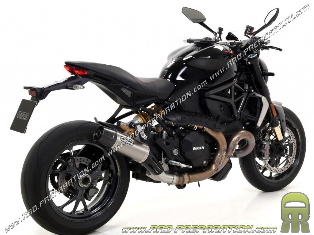 arrow jet race silencer for ducati monster 1200 r 2016 2018 motorcycle. Black Bedroom Furniture Sets. Home Design Ideas