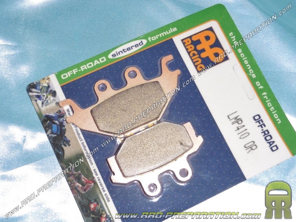 FRONT /& REAR BRAKE PADS KYMCO MXU 250 2004 2005 2006 2007 2008 2009 2010