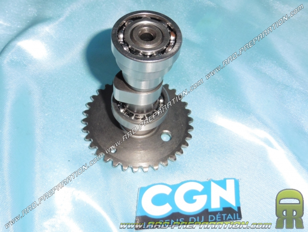 Camshaft with bearing + pinion for maxi-scooter 125cc 4 stroke Chinese  engine 152QMI - www rrd-preparation com