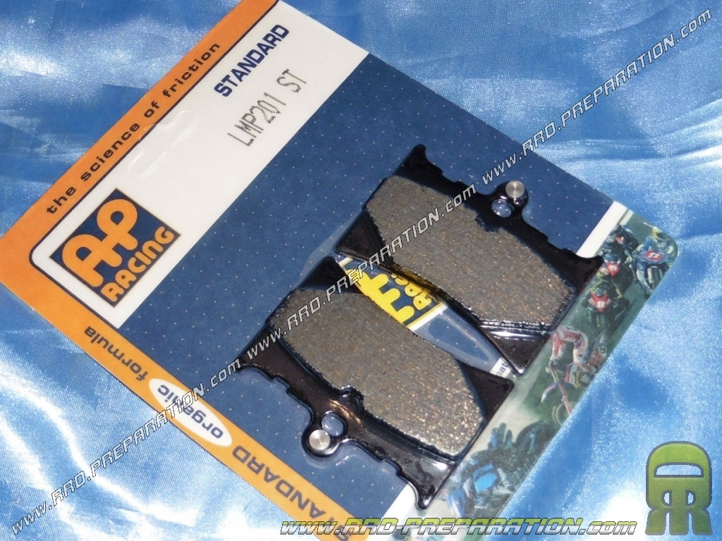 AP RACING front brake pads for quad, scooter, motorcycle APRILIA RS, AF1  125cc before 2006