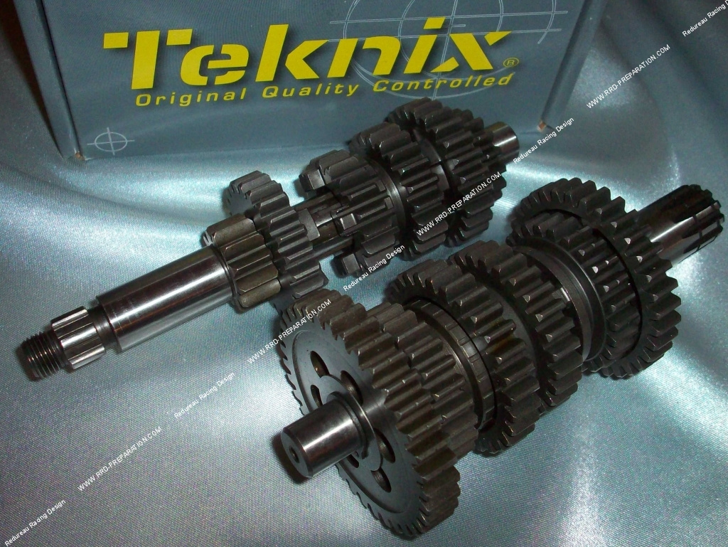 teknix gearbox for m caboite moteur minarelli am6. Black Bedroom Furniture Sets. Home Design Ideas