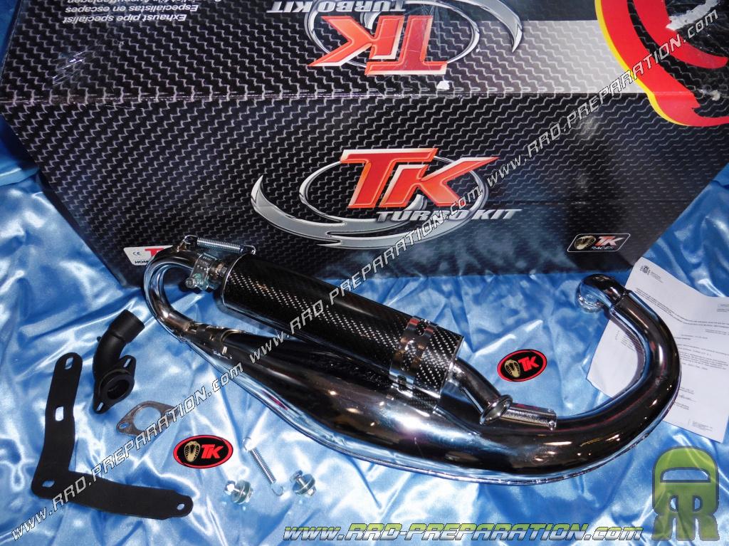 Exhaust TURBOKIT TK for scooter HONDA 80cc 75cc VISION, SH, PEUGEOT SC 80cc      - www rrd-preparation com