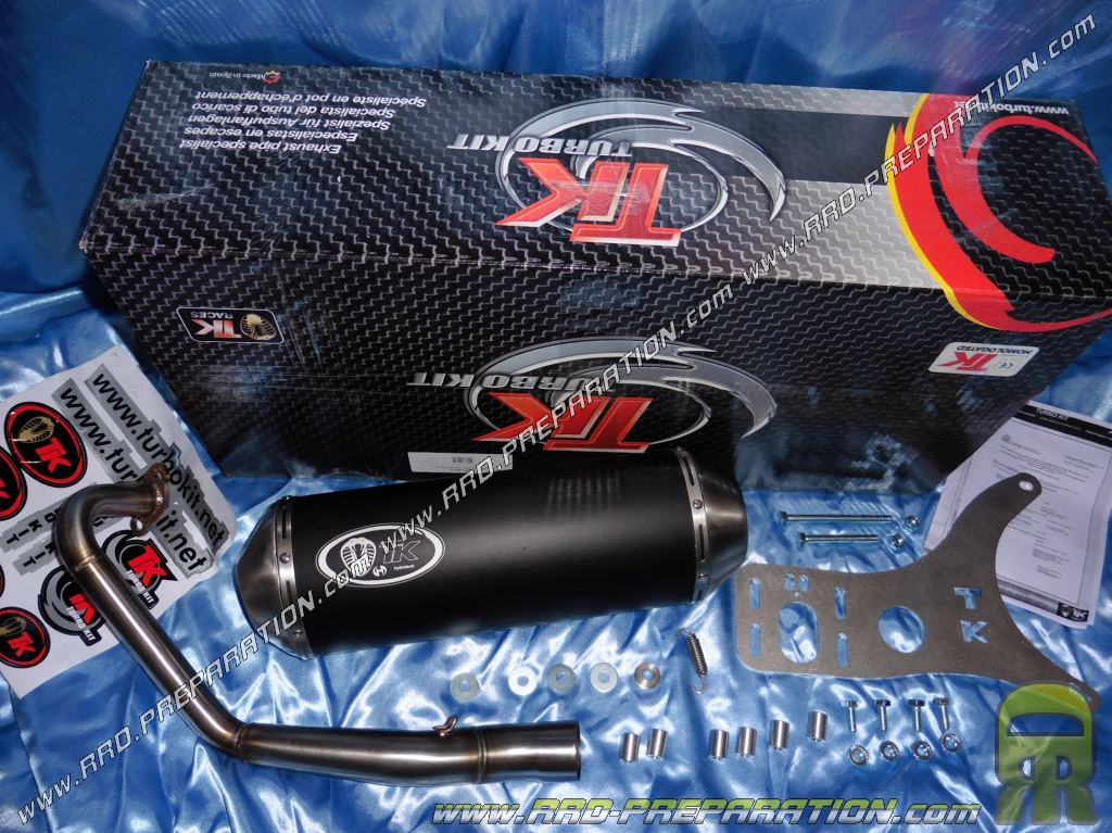 Sale Photo And Description Of The Exhaust Turbo Kit Tk Maxi Scooter Peugeot Django 125 4t From 2016