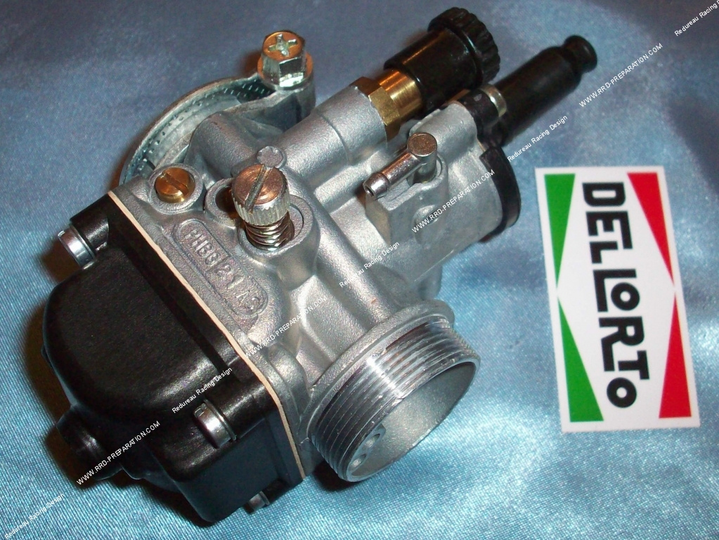 Carburettor DELLORTO PHBG 21 AS 1 rigid, without separate greasing, choke  lever