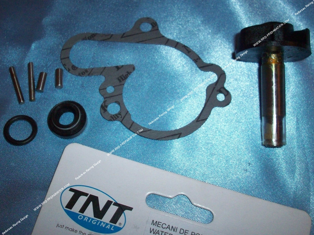 complete repair kit water pump tnt original for m caboite minarelli am6. Black Bedroom Furniture Sets. Home Design Ideas