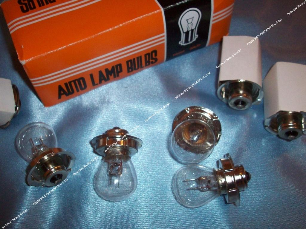 ampoule de phare p26s sb2 cgn feu avant lampe standard 12v 15w ou 6v aux choix. Black Bedroom Furniture Sets. Home Design Ideas