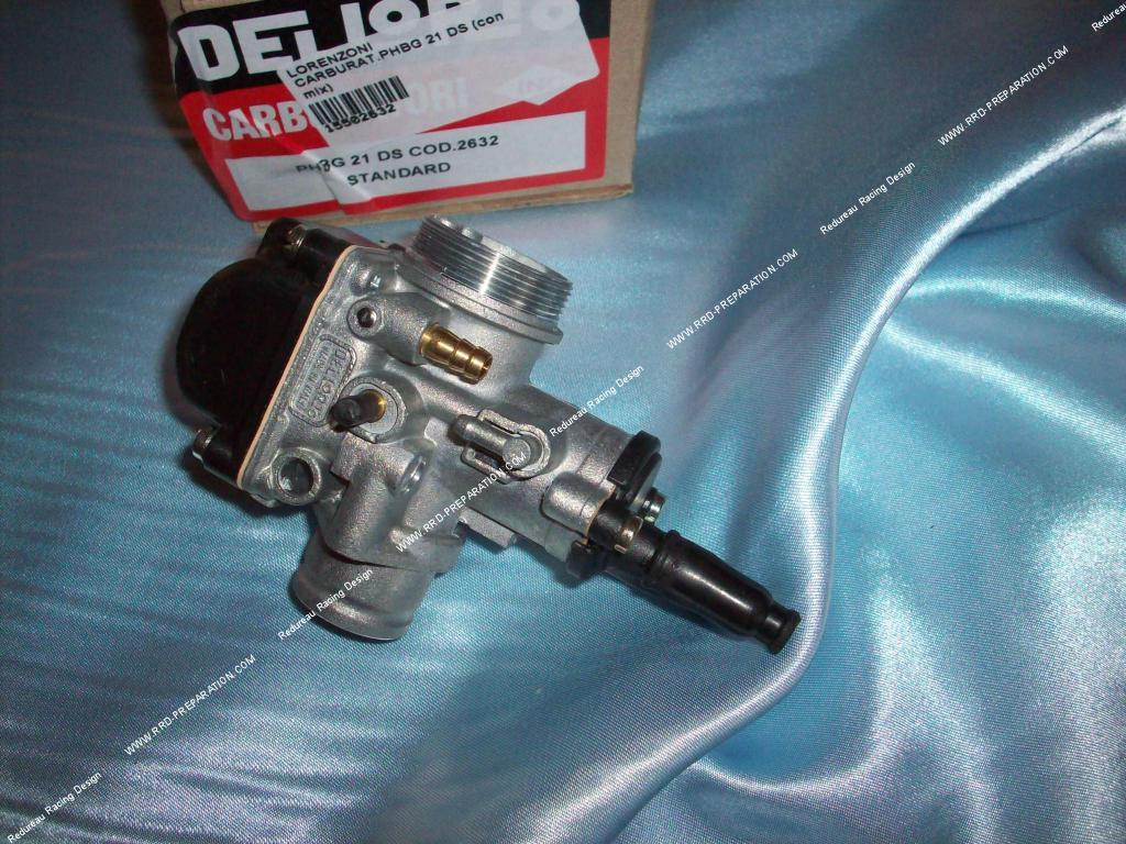 Carburettor DELLORTO PHBG 21 DS flexible, with separated greasing, choke  cable - www rrd-preparation com